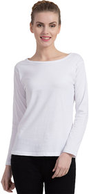 Cliths Women's Cotton Slim Fit Full Sleeve Round Neck Tshirts/ T-shirts For Womens Stylish