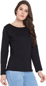 Cliths Women's Cotton Slim Fit Full Sleeve Round Neck Tshirts/ Tshirts For Womens Casual