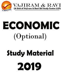 Vibhas Jha Sir Economics Optional - Printed + Class Notes-Study Material 2019
