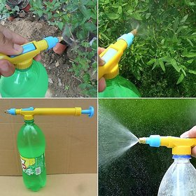 kudos Mini Water Pressure Gardening Sprayer Bottle Interface Plastic Spray Gun for Gardening and Planting (pack of 1)