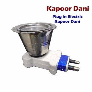 Steel Kapoor Dani Stand for Dhup Incense Burner