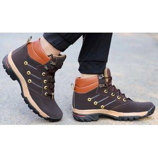 Aadi Men's Brown Casual Shoe