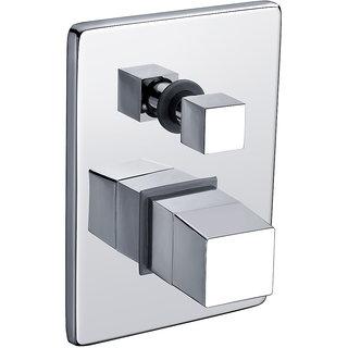 Madrid - Bathroom Diverter with Single Lever Concealed Diverter ( 2 outlets ) with Trim Handle