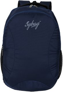 Sybag Navyblue Laptop Casual  Bagpack