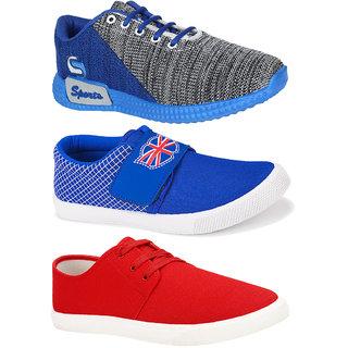 Armado Men's Combo Pack of 3 Shoe