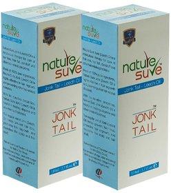 Nature Sure Jonk Tail (Leech Oil) for Hair Fall, Hair Loss in Men  Women - 2 Packs (2x110ml)