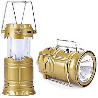 Blackbear 5800 XT Solar Emergency Light Bulb Torch with Charging Cable(5800 Campion TorchRandom Color)