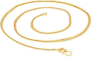 Sukkhi Modish Gold Plated Unisex Belcher chain