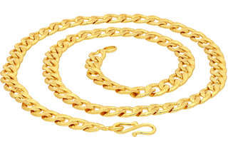 Sukkhi Ravishing Gold Plated Unisex Curb chain