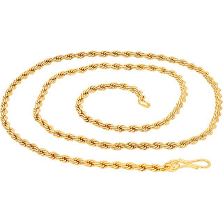 Sukkhi Exclusive Gold Plated Unisex Rope Chain