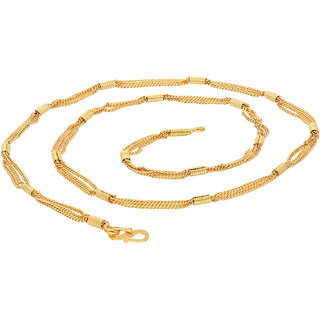 Sukkhi Ethnic Gold Plated Unisex chain