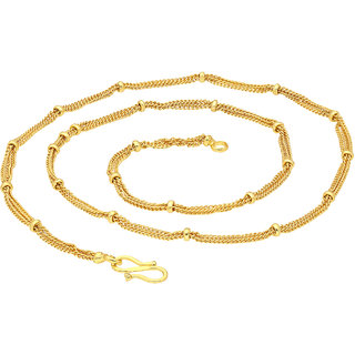 Sukkhi Glorious Gold Plated Unisex Snake chain