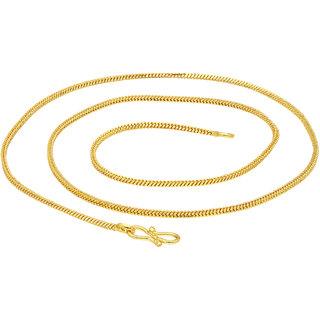 Sukkhi Sparkling Gold Plated Unisex Snake Chain
