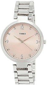 Timex Fashion Analog Pink Dial Womens Watch - TW000X201