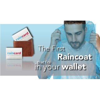 Wallet Raincard set of 4 Pcs