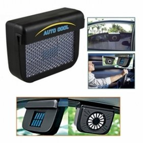 Solar Powered Car Auto Air Vent Cool Fan Cooler Ventilation System for Parked Cars.