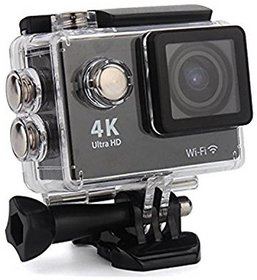 Royal Mobiles 4K Ultra HD 12 MP WiFi Waterproof Digital Action Sports Body only Sports Action Camera