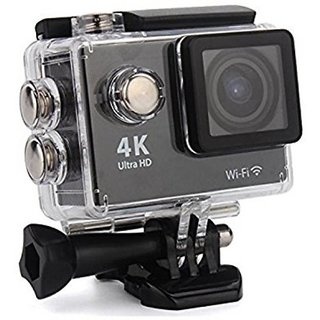 Royal Mobiles 4K Ultra HD 12 MP WiFi Waterproof Digital Action Sports Body only Sports Action Camera Sports   Action Cameras