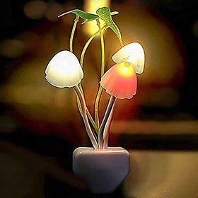 S4D Mushroom LED Night Light Night Lamp Night Lamp (12 cm, Multicolor)