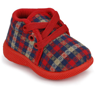 NEOBABY Booties  Red Age - 3 months to 24 Months For Kids Boys