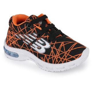 Neobaby Sport Shoes orange color For Kids Boys