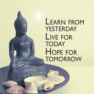 learn from yesterdayWall sticker paper poster  Sticker Paper Poster, 12x18 Inch