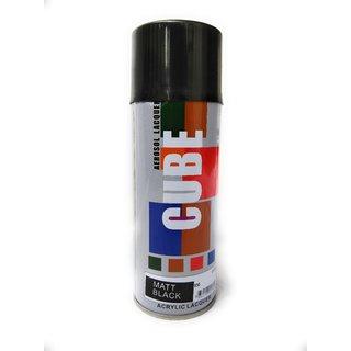 Multimood CUBE Black Matt Aerosol Spray Paint