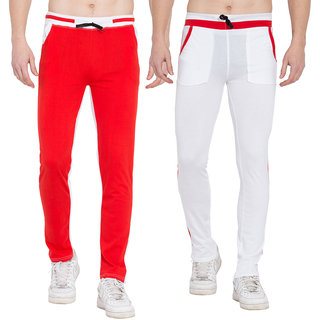 Cliths Mens Joggers Pants - Casual Gym Workout Track Pants Comfortable Slim Fit Tapered Sweatpants- Pack of 2