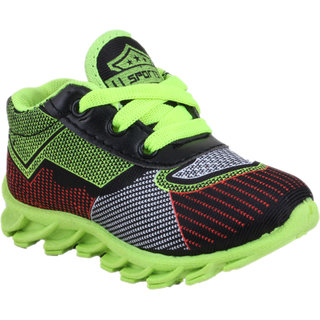 NEOBABY Sport shoes Parrot Green color Age  1.5 Year to 4.3 year for Kids
