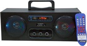 BARRY JOHN Blackbarry 2.0 Channels Bluetooth Speaker with FM/USB/AUX/MMC 50W (LED Lights)