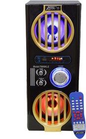 Barry John Beat Box with AUX, USB, BLUETOOTH, FM  MMC 60W Bluetooth Tower Speaker System (LED Lights)
