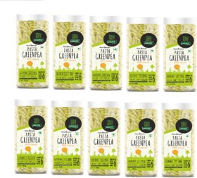 NutraHi Green Pea Gluten Free Pasta Each 200g - Pack of 10