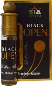 Black Open 8ml Roll-On