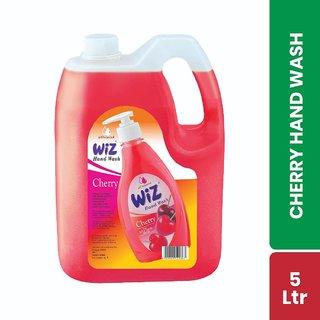 Wiz pH-Balanced Hand Care Cherry Liquid Handwash Refill Can - 5 Ltr-InstantSanitizer