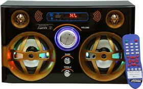 Barry John Golden Eagle with AUX, USB, BLUETOOTH, FM  MMC 50W Bluetooth Home Audio Speaker (LED Lights)
