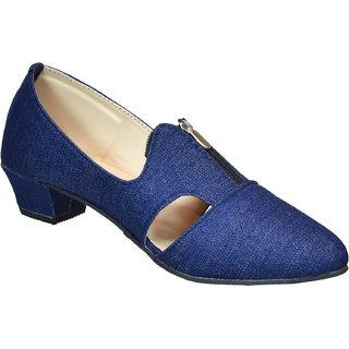 Dream Makers Women Blue Sandal Heel