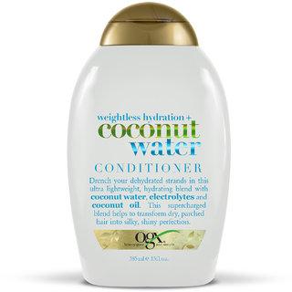 OGX Weightless Hydration Coconut Water Conditioner 385 Ml