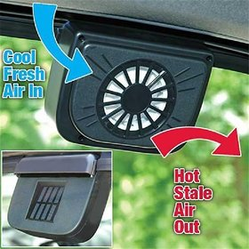 Solar Powered Car Auto Air Vent Cool Fan Cooler Ventilation System for Parked Cars