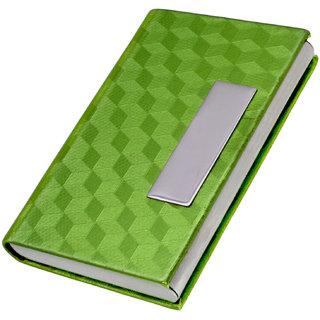 2 Pieces Magnetic Credit Debit ATM Visiting Business Card Metal Card Case Holder Wallet - 17