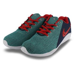 Firemark Mens Multicolor Sports Running Jogging Walking Comfort Shoes for Men