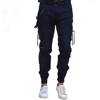 Lezendary Men Blue Cargo