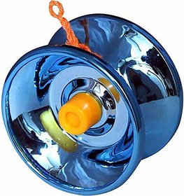 Nawani  High Gloss high Speed Metal YoYo Toy Spinner Toy (1 pcs) (Color May Vary) (Glossy Metal)