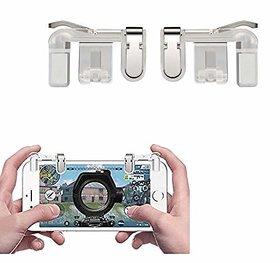 PUBG Mobile Trigger Transparent 1 Pair of Sensitive Game Triggers by Deals e Unique