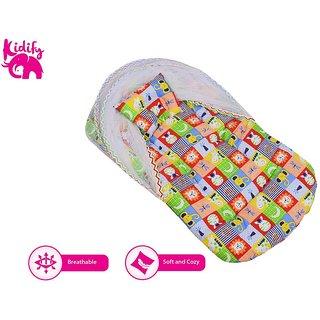 Kidify Reversible Super Comfort Baby Bedding Set -Flip, sleep, repeat (Small 0-6 Months)