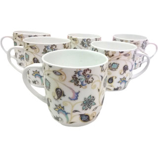 Royale elegant bone china coffee cup and tea cup set of 6