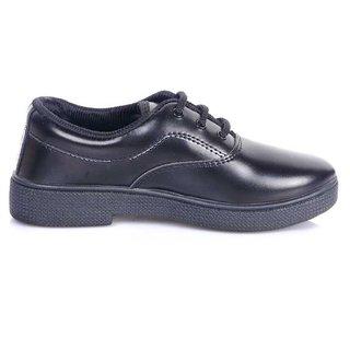 Eila School Shoes Black for Boy