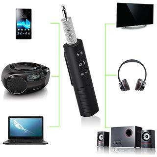 Mettle BT 301 Wireless Car Bluetooth Receiver 3.5mm AUX Bluetooth Audio Receiver- CRBT-1801