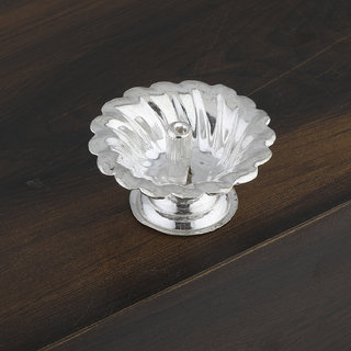 Silver Shine Silver Plated Designer Agarbatti Holder