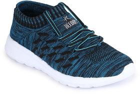 REFOAM Men's SEA GREEN FLYKNIT Running Sport Shoes