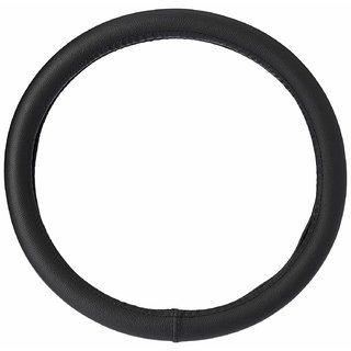 Cranzo Car Steering Wheel Cover Leather For Hyundai Eon Facelift